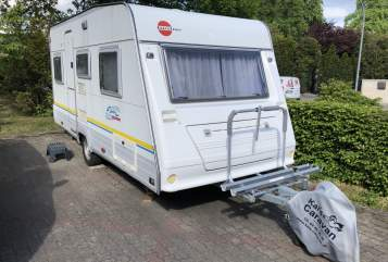Caravan Bürstner Kuddel in Borstel-Hohenraden huren van particulier