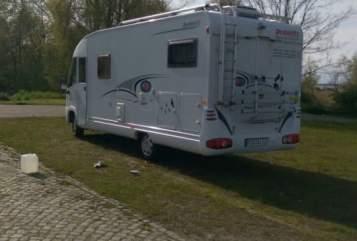 Buscamper dethleffs ostseeperle in Ribnitz-Damgarten huren van particulier