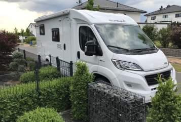 Halfintegraal Sunlight  Reisewagen  in Gudensberg huren van particulier