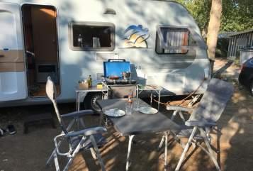 Caravan Knaus Tabbert Schneckenhaus in Haigerloch huren van particulier