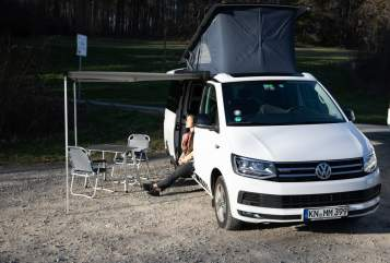 Kampeerbus VW Calli in Konstanz huren van particulier