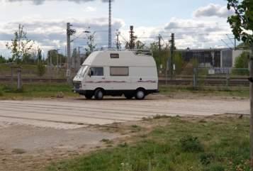 Kampeerbus Westfalia VW Flory in Leipzig huren van particulier