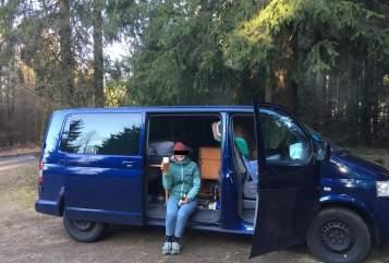 Buscamper VW Der Blaue Blitz in Köln huren van particulier