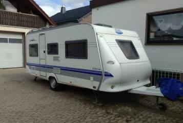 Caravan Hobby Hobby 495 de luxe easy K542 in Augustdorf huren van particulier