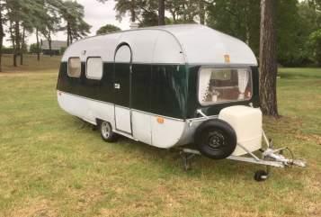 Caravan SMV Green EGG in Rosmalen huren van particulier