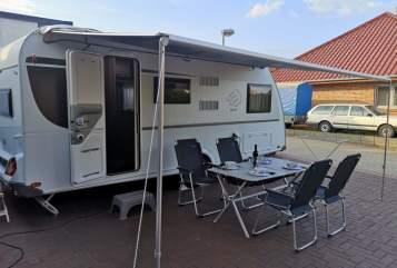 Caravan Knaus  Knaus in Alfhausen huren van particulier