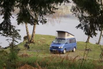 Kampeerbus VW T4 california blue in Lippstadt huren van particulier