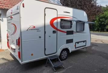 Caravan Bürstner Little Home in Wendeburg huren van particulier