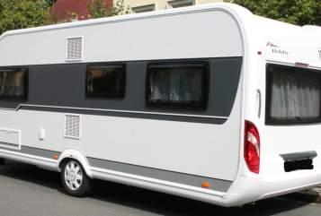 Caravan Hobby Luxury Home in Dresden huren van particulier