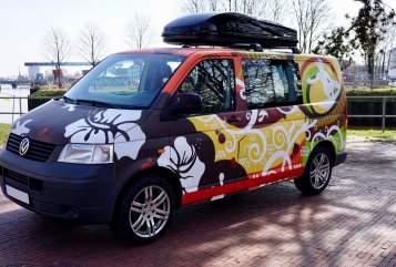 Kampeerbus Volkswagen Surferbulli in Oldenburg huren van particulier