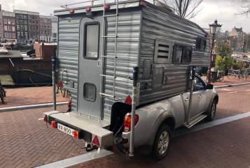 Overige Mitsubishi 4x4 camper in Amsterdam huren van particulier