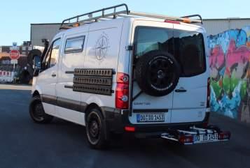 Kampeerbus Volkswagen  Herbie in Dortmund huren van particulier