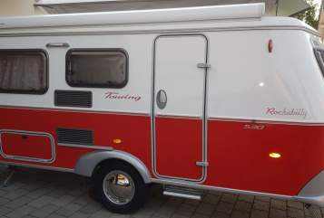 Caravan Eriba Rockabilly in Bad Grönenbach huren van particulier