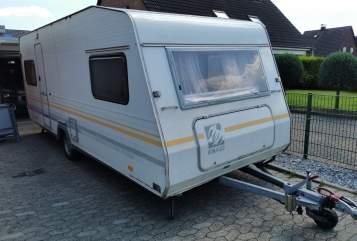 Caravan Knaus Südwind 530 TK in Tönisvorst huren van particulier
