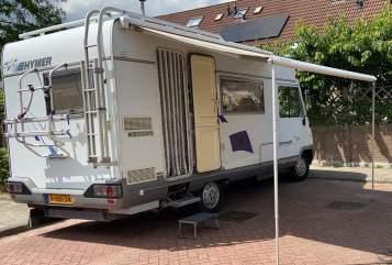 Integraal Fiat HymerMobil in Driebruggen huren van particulier