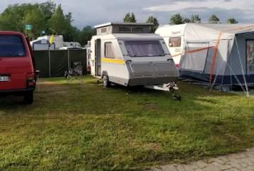Caravan KIP Hubi in Friedeburg huren van particulier