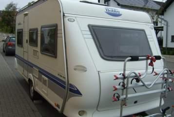 Caravan Hobby Mabelle in Essenheim huren van particulier
