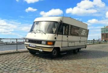 Integraal Hymermobil  Lotte  in Berlin huren van particulier