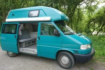 Kampeerbus Volkswagen Cala in Bad Neuenahr-Ahrweiler huren van particulier