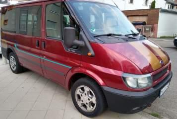 Buscamper Ford Transit  Dunja-Mobil in Mannheim huren van particulier