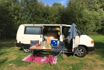 Kampeerbus VW  Moos  in Utrecht huren van particulier