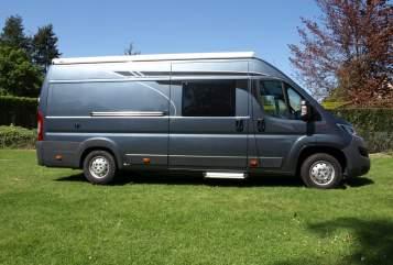 Buscamper Roadcar Egon in Dresden huren van particulier