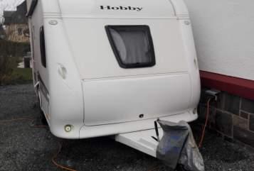 Caravan Hobby Sunny II in Schwarzatal huren van particulier
