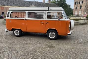 Kampeerbus Volkswagen Bus Texas in Drachten huren van particulier
