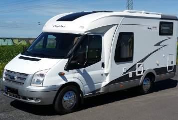 Halfintegraal Ford Transit Hobby T500 GFSC in Heikendorf huren van particulier