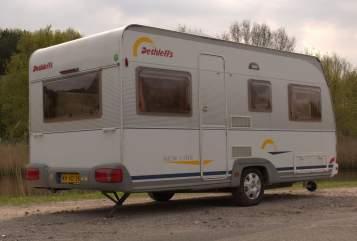 Caravan Dethleffs Dethelffs 460DB in Zoetermeer huren van particulier