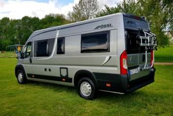 Buscamper Pössl Free Cruiser in Beckum huren van particulier