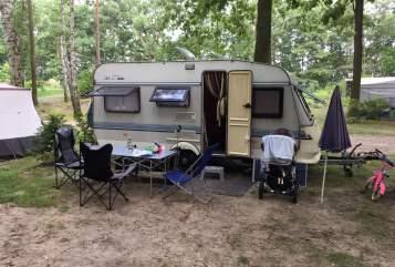 Caravan Hobby Fuchsbau in Leipzig huren van particulier