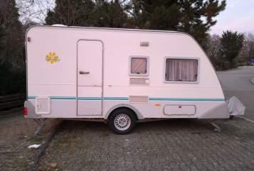 Caravan Knaus VanTastic in Pforzheim huren van particulier