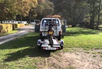 Kampeerbus VW VW lange bus  in Putten huren van particulier