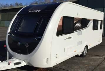 Caravan Sprite Speedy in Weeze huren van particulier