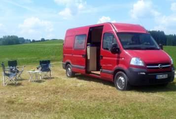 Buscamper Opel MovanoCamper in Sonthofen huren van particulier