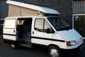 Kampeerbus Ford Carpe Diem in Amsterdam huren van particulier