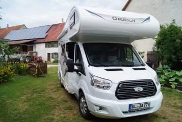 Alkoof Chausson Allwetter Camper in Ehingen (Donau) huren van particulier