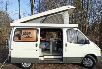 Kampeerbus Ford roadie Reimo in Utrecht huren van particulier