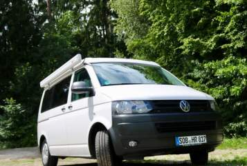 Kampeerbus Volkswagen  Sirius in Schrobenhausen huren van particulier