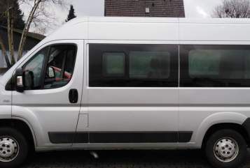 Buscamper Fiat Ducato Snoopy in Sassenberg huren van particulier