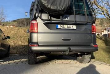 Kampeerbus Volkswagen OffRoad Bulli in Miesbach huren van particulier