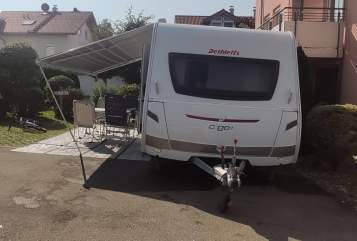 Caravan Dethleffs Anton  in Sonthofen huren van particulier