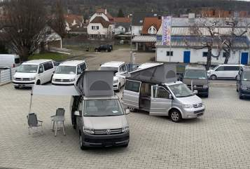 Kampeerbus VW Columbus in Kirchheim unter Teck huren van particulier