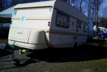 Caravan Tabbert  Tabbbert Comtesse 1300 kg 4 Schlafplätze in Spiegelau huren van particulier