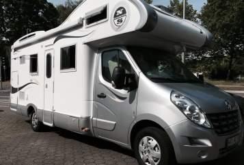 Alkoof XGO Rimor Bett-Mobil in Bochum huren van particulier