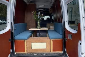Buscamper Volkswagen  Camper Nieuw  in Eindhoven huren van particulier