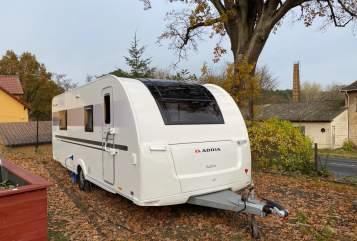 Caravan Adria unser Glamper in Berlin huren van particulier