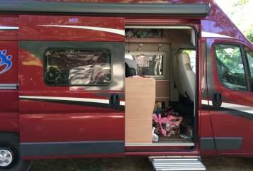 Buscamper Knaus Lucy-Lotte in Bodenheim huren van particulier