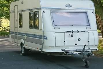 Caravan Hobby  Lotte in Teltow huren van particulier